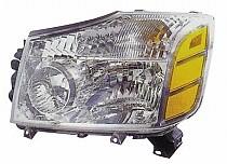 2004 - 2007 Nissan Armada Headlight Assembly - Left (Driver)