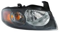 2004 - 2006 Nissan Sentra Headlight Assembly (SE-R/SE-R Special V + with Black Bezel) - Right (Passenger)