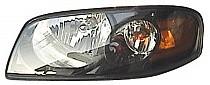 2004 - 2006 Nissan Sentra Headlight Assembly (Base/S Model) - Left (Driver)