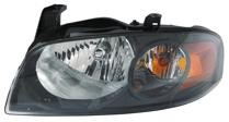 2004 - 2006 Nissan Sentra Headlight Assembly (SE-R/SE-R Special V / with Black Bezel) - Left (Driver)
