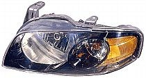 2004-2006 Nissan Sentra Headlight Assembly (SE-R/SE-R Special V / with Black Bezel) - Left (Driver)
