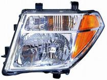 2005 - 2008 Nissan Frontier Front Headlight Assembly Replacement Housing / Lens / Cover - Left (Driver)