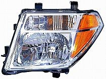 2005-2008 Nissan Frontier Headlight Assembly - Left (Driver)