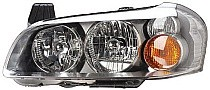 2002 - 2003 Nissan Maxima Front Headlight Assembly Replacement Housing / Lens / Cover - Left (Driver)