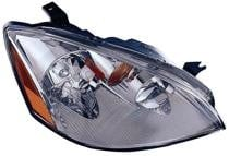 2002 - 2004 Nissan Altima Headlight Assembly (Includes Park/Signal Lamps + HID) - Right (Passenger)