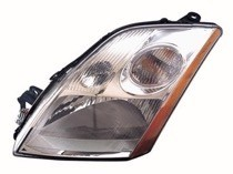 2007 - 2009 Nissan Sentra Headlight Assembly - Right (Passenger)