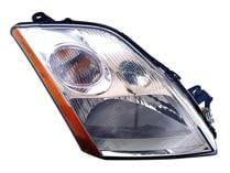 2007 - 2009 Nissan Sentra Headlight Assembly - Left (Driver)