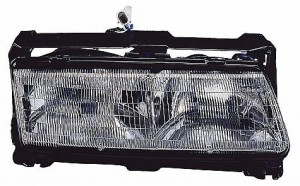 1990-1990 Pontiac Grand Prix Headlight Assembly - Right (Passenger)