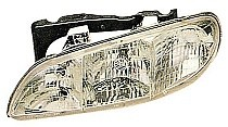 1996 - 1998 Pontiac Grand Am Headlight Assembly - Left (Driver)