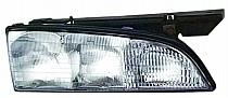 1992 - 1993 Pontiac Bonneville Headlight Assembly - Left (Driver)