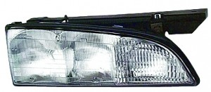 1992-1993 Pontiac Bonneville Headlight Assembly - Left (Driver)