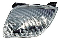 1995 - 2002 Pontiac Sunfire Front Headlight Assembly Replacement Housing / Lens / Cover - Left (Driver)