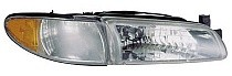 1997 - 2003 Pontiac Grand Prix Front Headlight Assembly Replacement Housing / Lens / Cover - Right (Passenger)