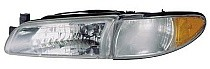 1997 - 2003 Pontiac Grand Prix Front Headlight Assembly Replacement Housing / Lens / Cover - Left (Driver)