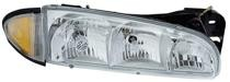 1996 - 1999 Pontiac Bonneville Front Headlight Assembly Replacement Housing / Lens / Cover - Right (Passenger)