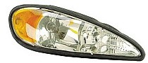 1999 - 2005 Pontiac Grand Am Front Headlight Assembly Replacement Housing / Lens / Cover - Right (Passenger)