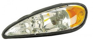1999-2005 Pontiac Grand Am Headlight Assembly - Left (Driver)