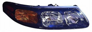2003-2005 Pontiac Bonneville Headlight Assembly - Right (Passenger)