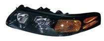2000 - 2003 Pontiac Bonneville Headlight Assembly - Left (Driver)
