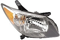 2003 - 2004 Pontiac Vibe Front Headlight Assembly Replacement Housing / Lens / Cover - Right (Passenger)