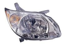 2005 - 2008 Pontiac Vibe Headlight Assembly - Right (Passenger)