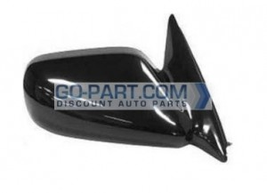 1997-2001 Toyota Camry Side View Mirror (Non-Heated / Power Remote / Japan / Black / Camry CE/LE/XLE) - Right (Passenger)