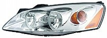 2005 - 2010 Pontiac G6 Front Headlight Assembly Replacement Housing / Lens / Cover - Left (Driver)