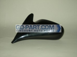 1998-2002 Toyota Corolla Side View Mirror (Non-Heated / Manual / Primed) - Left (Driver)