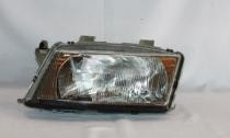 2000 - 2003 Saab 9-3 Front Headlight Assembly Replacement Housing / Lens / Cover - Left (Driver)