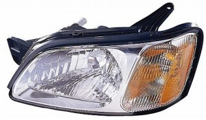 2000-2004 Subaru Legacy Headlight Assembly (Brighton / L)- Left (Driver)