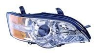 2006 - 2007 Subaru Legacy Front Headlight Assembly Replacement Housing / Lens / Cover - Right (Passenger)