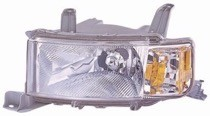 2004 - 2007 Scion xB Front Headlight Assembly Replacement Housing / Lens / Cover - Left (Driver)