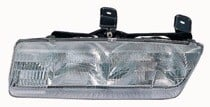 1993 - 1995 Saturn S Front Headlight Assembly Replacement Housing / Lens / Cover - Left (Driver)