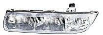 1996 - 1999 Saturn S Front Headlight Assembly Replacement Housing / Lens / Cover - Left (Driver)