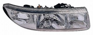 1997-2000 Saturn S Coupe Headlight Assembly - Right (Passenger)
