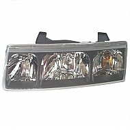 2002 - 2004 Saturn Vue Front Headlight Assembly Replacement Housing / Lens / Cover - Left (Driver)