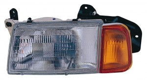 1998-1998 Suzuki Sidekick Headlight Assembly - Left (Driver)