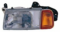 1992 - 1995 Suzuki Sidekick Front Headlight Assembly Replacement Housing / Lens / Cover - Left (Driver)