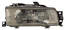 1988 - 1992 Toyota Corolla Front Headlight Assembly Replacement Housing / Lens / Cover - Right (Passenger)