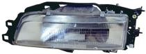 1987 - 1991 Toyota Camry Front Headlight Assembly Replacement Housing / Lens / Cover - Right (Passenger)
