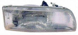 1990-1993 Toyota Previa Headlight Assembly - Right (Passenger)
