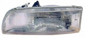 1990-1993 Toyota Previa Headlight Assembly - Left (Driver)
