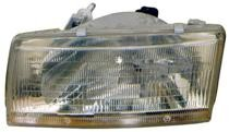 1991 - 1994 Toyota Tercel Front Headlight Assembly Replacement Housing / Lens / Cover - Right (Passenger)