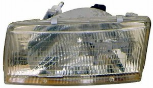1991-1994 Toyota Tercel Headlight Assembly - Right (Passenger)