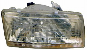 1991-1994 Toyota Tercel Headlight Assembly - Left (Driver)