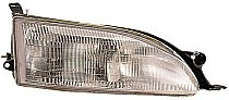 1995 - 1996 Toyota Camry Headlight Assembly - Right (Passenger)