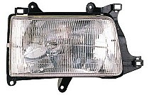 1993 - 1998 Toyota T100 Pickup Front Headlight Assembly Replacement Housing / Lens / Cover - Right (Passenger)