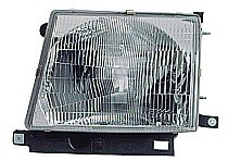 1998 - 2000 Toyota Tacoma Front Headlight Assembly Replacement Housing / Lens / Cover - Left (Driver)