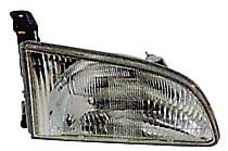 1998 - 2000 Toyota Sienna Front Headlight Assembly Replacement Housing / Lens / Cover - Right (Passenger)