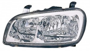 1998-2000 Toyota RAV4 Headlight Assembly - Left (Driver)